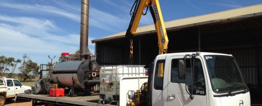Biochar Emission Testing